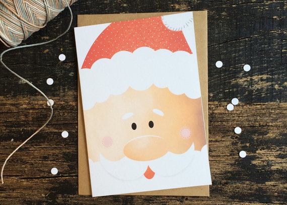 Christmas Card - Hey Santa!