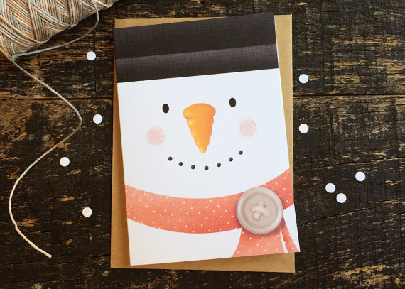 Christmas Card - Mr. Snowman
